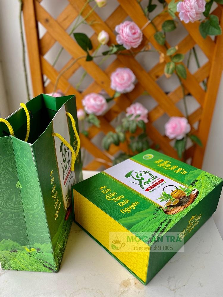 Hộp Chè Đinh Thượng Hạng Quà Biếu 500 gram