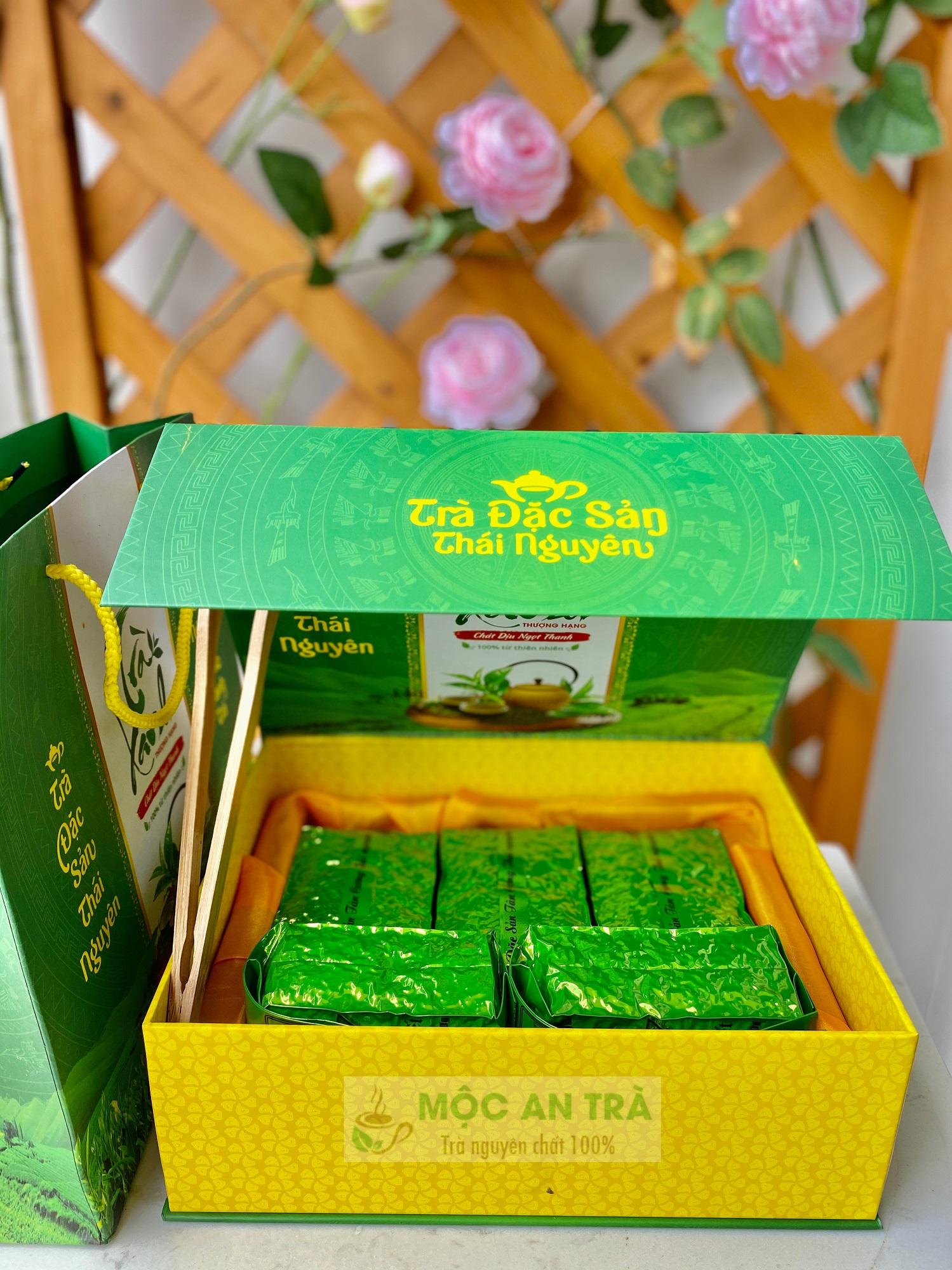 Hộp Chè Đinh Nõn Quà Biếu 500 gram