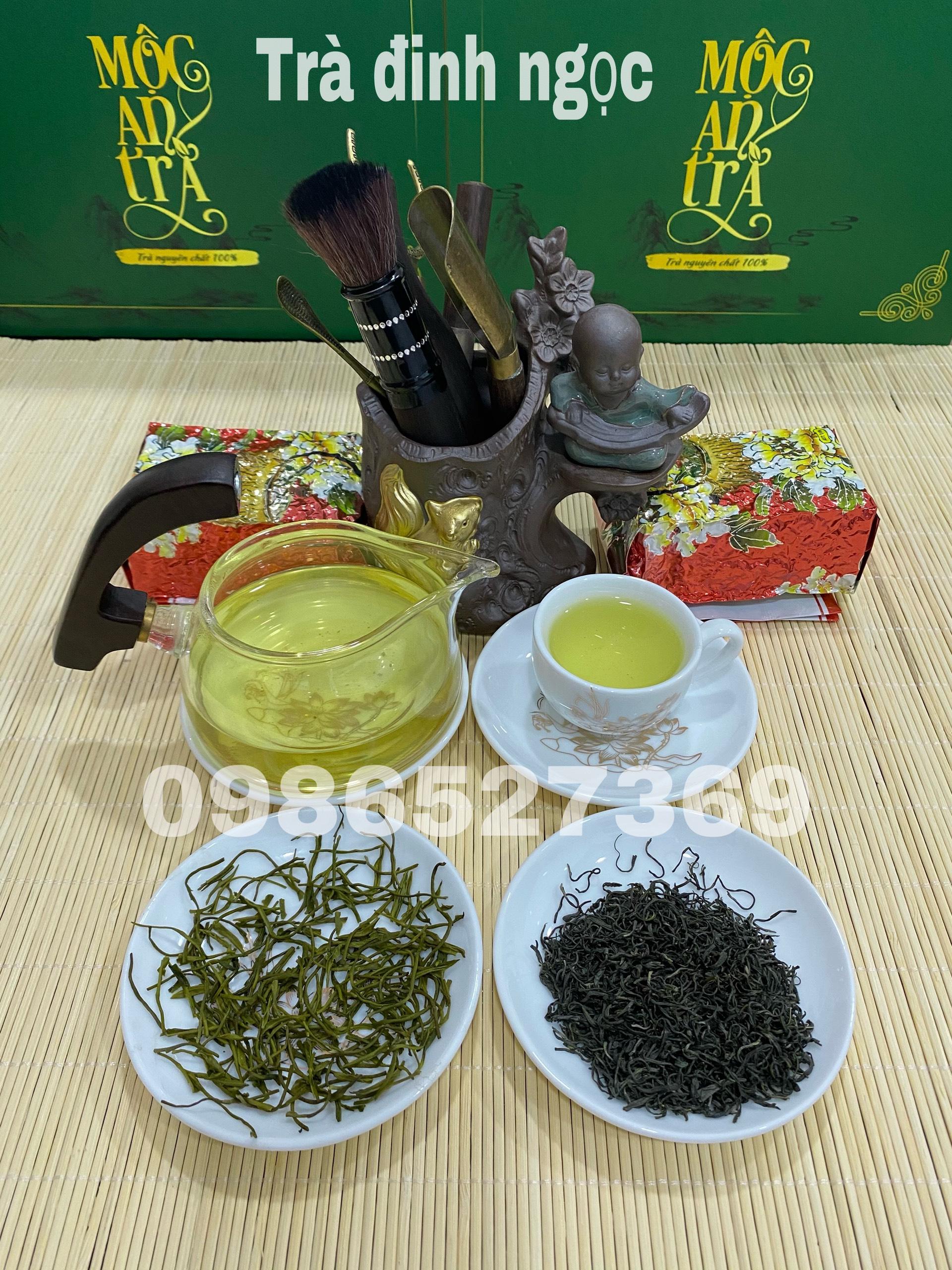 Trà (Chè) Đinh Ngọc Tân Cương Thái Nguyên 100 gram